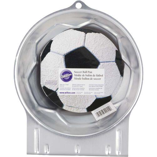 D Soccer Ball Cake Pan