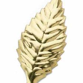 1 7/8 in. Wide Gold Artificial Leaves