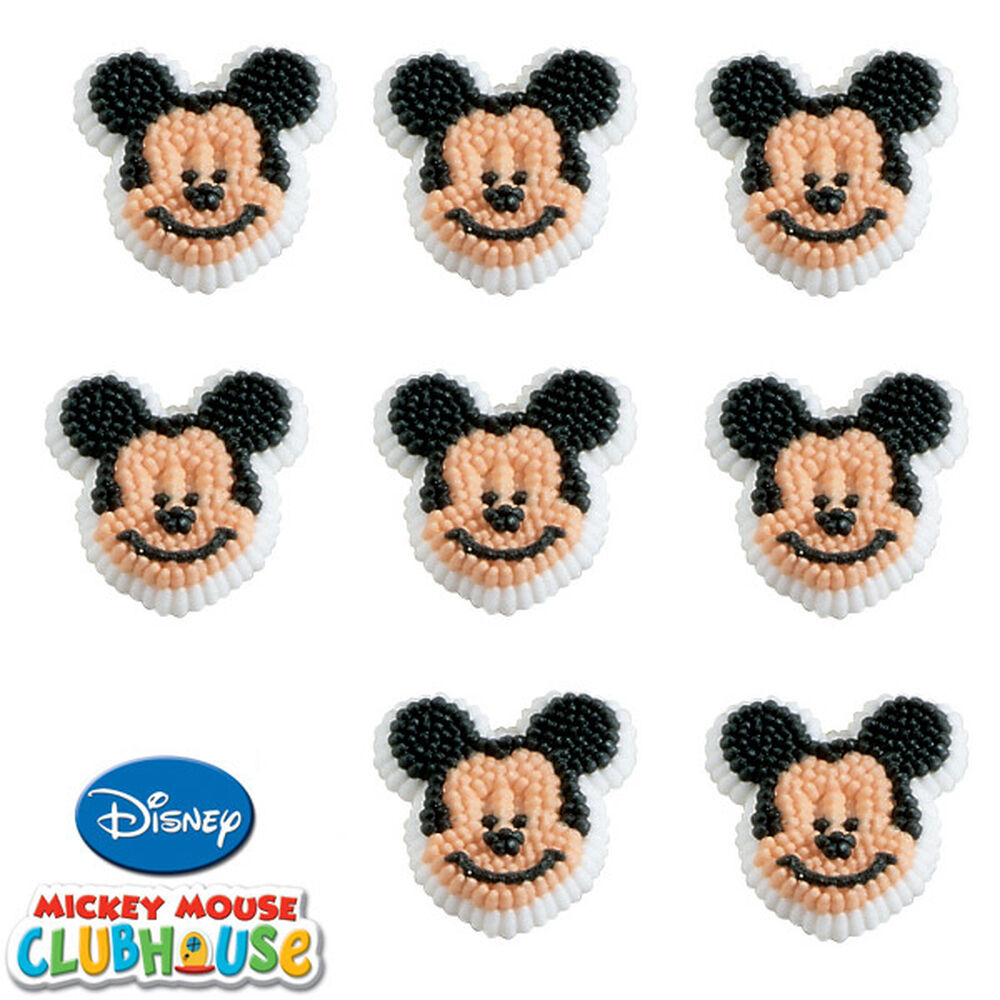 Baby Mickey Mouse Edible Cake Decorations Candy And Icing Decorations Wilton