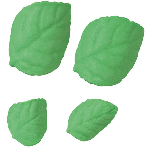 Pre-made Royal Icing Leaves