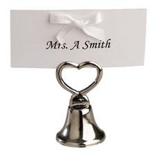 Silver Bell Wedding Favor Making Kit