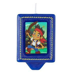 Wilton Disney Jake and the Never Land Pirates Birthday Candle