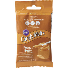 Wilton Peanut Butter Candy Drizzles Pouch