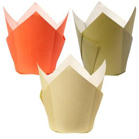 Autumn Assorted Pleated Baking Cups