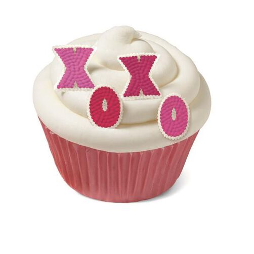 Wilton XOXO Mini Icing Decorations