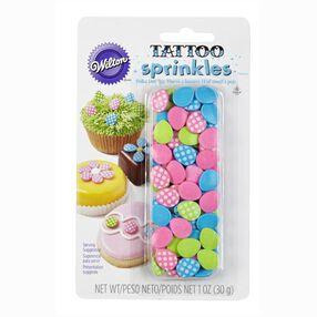 Polka Dot Easter Egg Tattoo Sprinkles