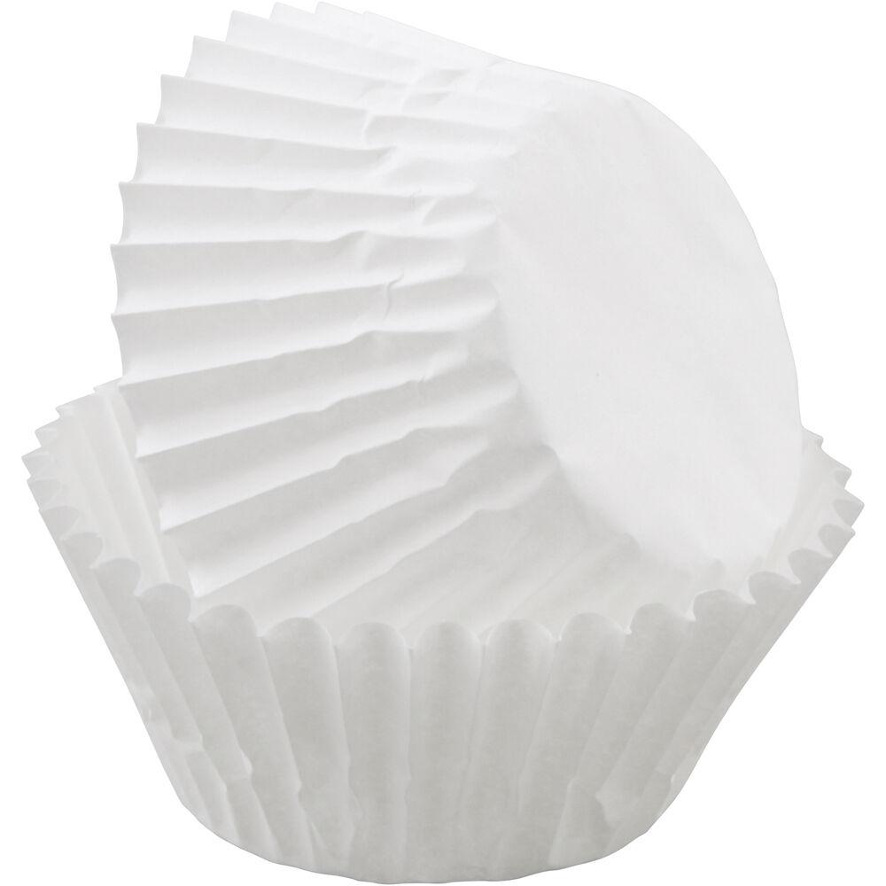 Mini White Cupcake Liners Wilton