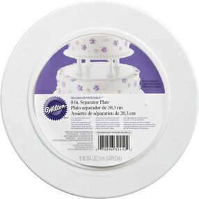 "Decorator Preferred 8"" Smooth Edge Plate"