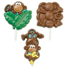 Monkey Lollipop Mold