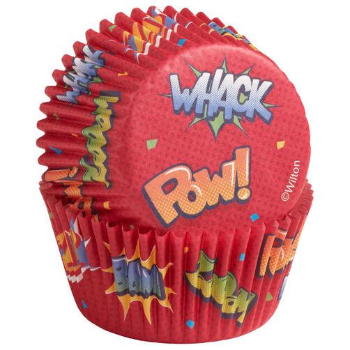 Pow Bursts Cupcake Liners