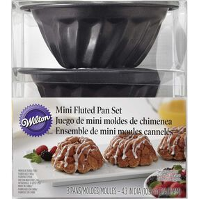 Mini Fluted Pan Set