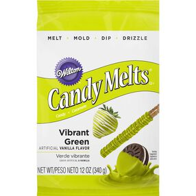 Wilton Vibrant Green Candy Melt