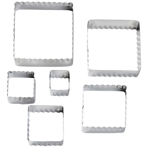 Square Fondant Double Cut-Outs Set