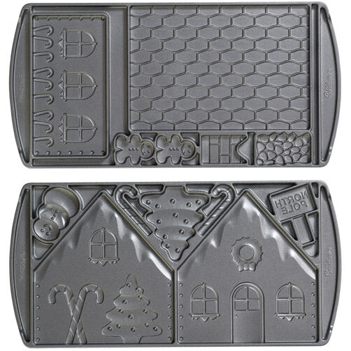 Gingerbread House Mold Pan Wilton