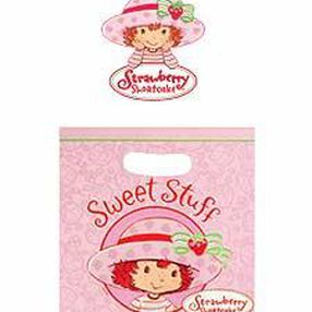 Strawberry Shortcake Large Treat Bags