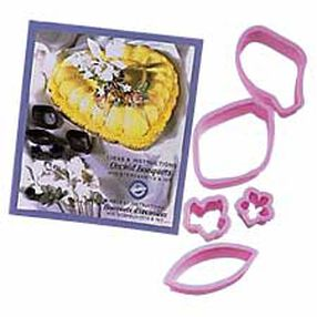 Orchid Bouquet Flower Cutter Set