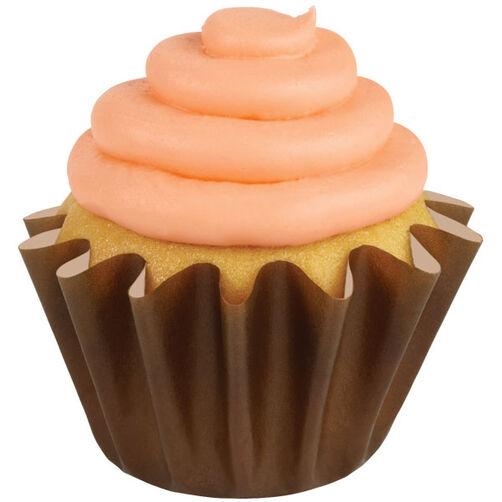 Brown Wave Cupcake Liners