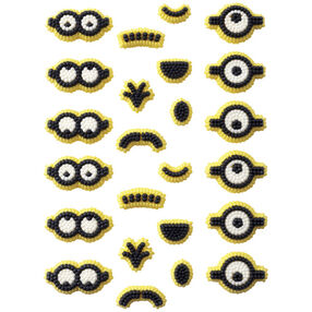 Wilton Minions Icing Decorations, 24