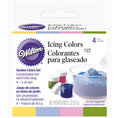 Garden Tone 4-Icing Colors Set