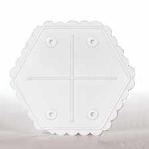 16 in. Hexagon Separator Plate