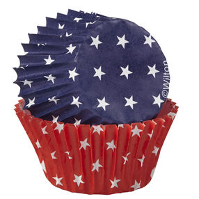 Wilton® Red, White and Blue Mini Baking Cups, 100 Ct.