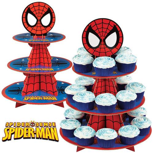 Spider-Man Cupcake Stand