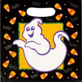 Glow-In-The-Dark Spooky Ghost Party Bags