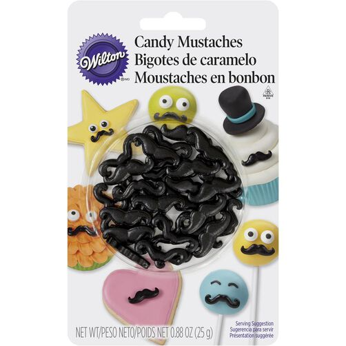 Mustache Candy Decorations