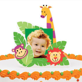 Jungle Pals Photo Cake Topper