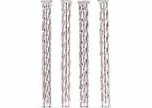 9 in. Crystal-Look Twist Legs