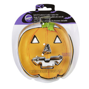 Wilton 3-Pc. Jack-O?-Lantern Cookie Cutter Set