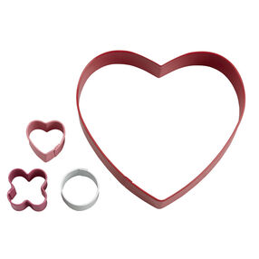 Wilton Kisses & Hugs Heart Cookie Cutter Set, 4-Pc.
