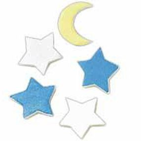 Moon and Stars Special Delivery Decorate-A-Memory Charms Favor Accents