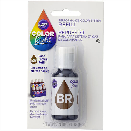 Wilton Color Right Brown Base Color Refill