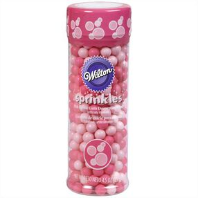 Wilton Bubble Gum-Flavored Sugar Pearl Sprinkles
