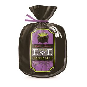 Wilton Halloween Evil Eye Extract Shaped Party Bags, 15 CT
