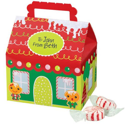 Frosted Fun Favor Boxes