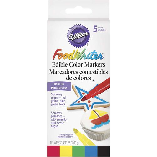 FoodWriter Bold Tip Edible Markers