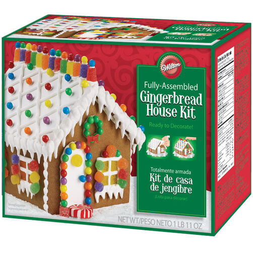 Pre-Baked and Pre-Assembled Gingerbread House Kit