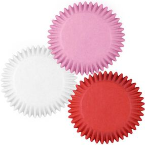 Red, White & Pink Cupcake Liners