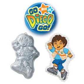 """""""Go, Diego, Go!"""" Cake Pan"""