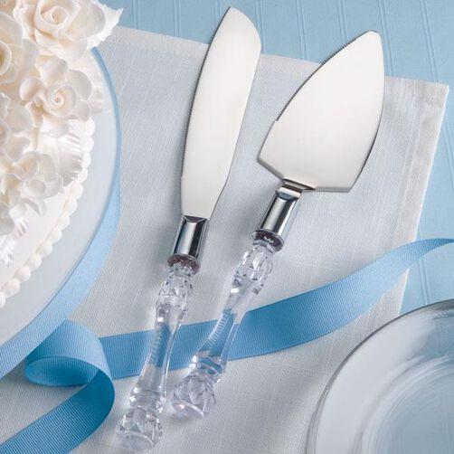 Crystal Cut Serve Set