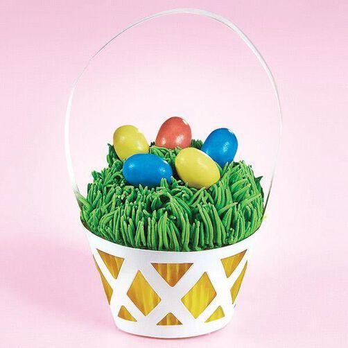 Easter Basket Cupcake Wraps