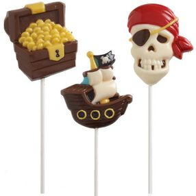 Pirate Lollipop Mold