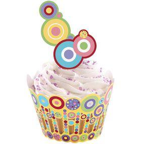 Sweet Dots Cupcake Wraps'n Pix