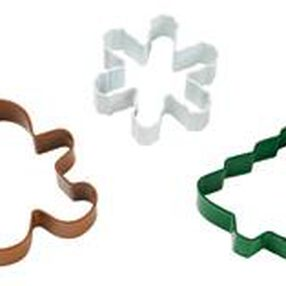 3 Pc. Christmas Cutter Set