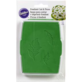 Rose Leaf Fondant Cut & Press Set