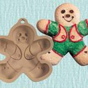 Gingerbread Boy Cookie Mold