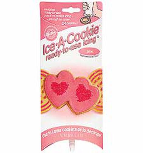 Pink Ice-A-Cookie