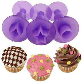 Wilton Classic Shapes Mini Fondant Cut-Outs Set 1907-1347